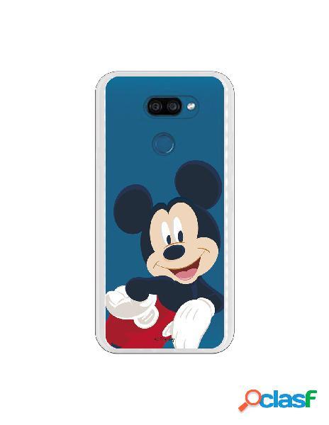Funda para LG K40S Oficial de Disney Mickey Classic