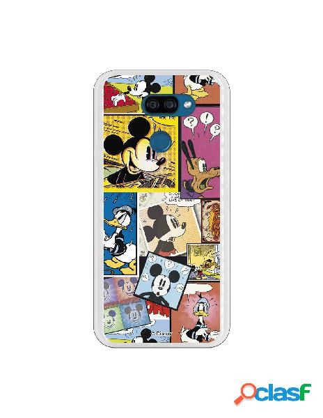 Funda para LG K40S Oficial de Disney Mickey Comic -