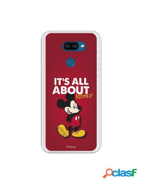 Funda para LG K40S Oficial de Disney Mickey it's all about -