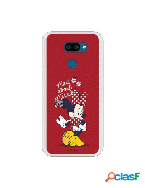 Funda para LG K40S Oficial de Disney Minnie Mad About -