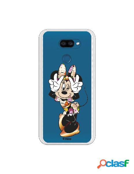 Funda para LG K40S Oficial de Disney Minnie Posando -