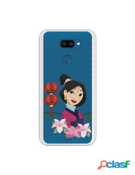 Funda para LG K40S Oficial de Disney Mulan Rostro - Mulan