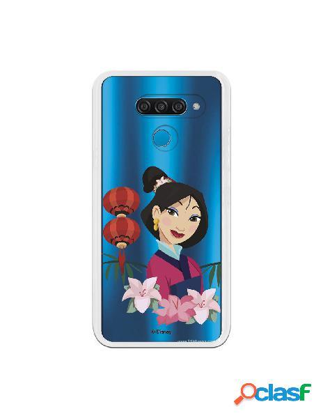 Funda para LG K50 Oficial de Disney Mulan Rostro - Mulan