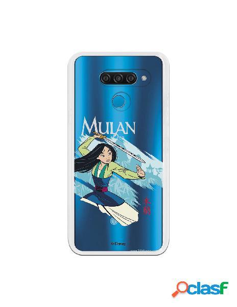Funda para LG K50 Oficial de Disney Mulan Tipografia - Mulan