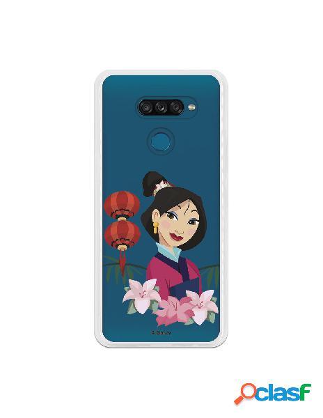 Funda para LG K50S Oficial de Disney Mulan Rostro - Mulan