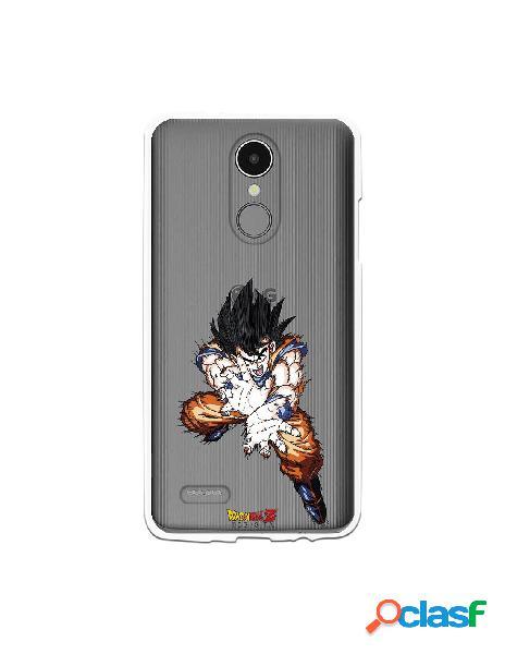 Funda para LG K8 2017 Oficial de Dragon Ball Goku Onda Vital