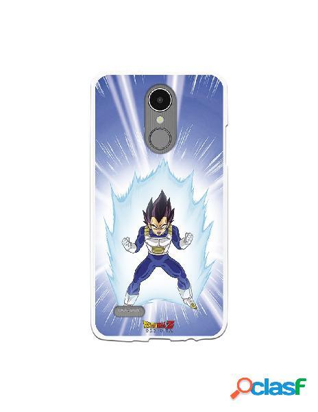 Funda para LG K8 2017 Oficial de Dragon Ball Vegeta Saiyan -