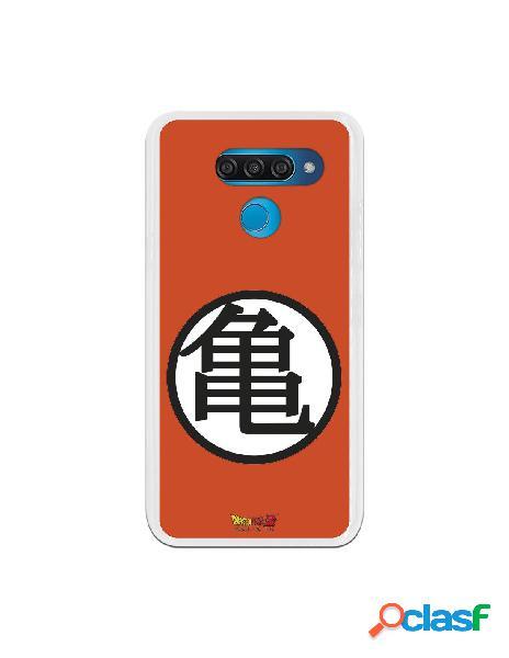 Funda para LG Q60 Oficial de Dragon Ball Kame Símbolo -