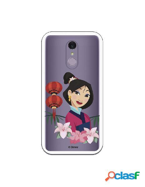 Funda para LG Q7 Oficial de Disney Mulan Rostro - Mulan