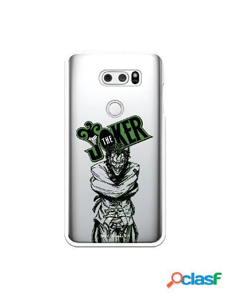 Funda para LG V30S ThinQ Oficial de DC Comics Joker Madness