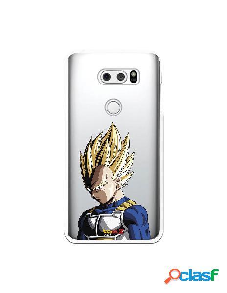 Funda para LG V30S ThinQ Oficial de Dragon Ball Vegeta Super