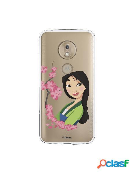 Funda para Motorola Moto G7 Play Oficial de Disney Mulan