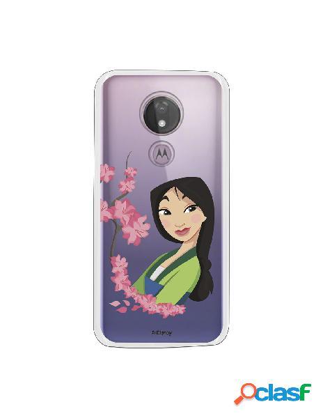 Funda para Motorola Moto G7 Power Oficial de Disney Mulan