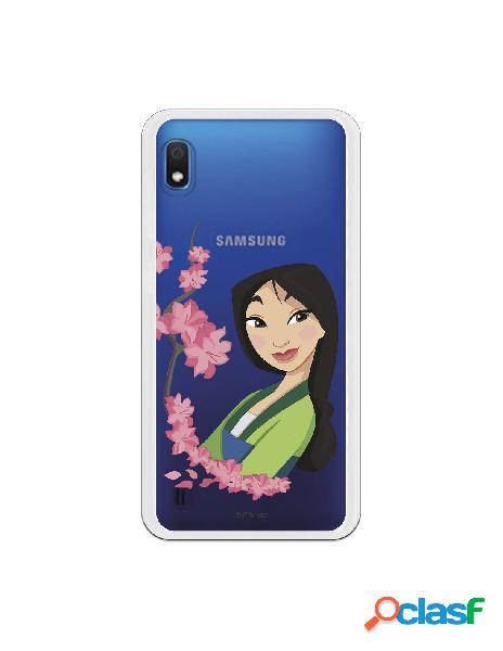 Funda para Samsung Galaxy A10 Oficial de Disney Mulan