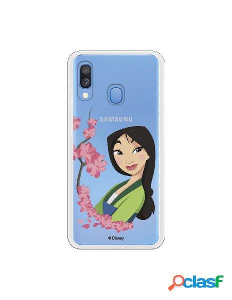 Funda para Samsung Galaxy A20E Oficial de Disney Mulan