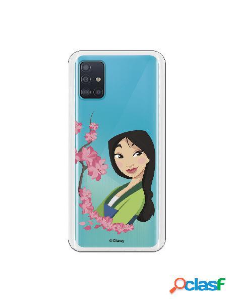 Funda para Samsung Galaxy A51 Oficial de Disney Mulan