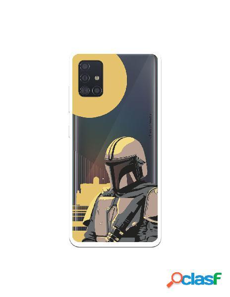 Funda para Samsung Galaxy A51 Oficial de Star Wars Mando