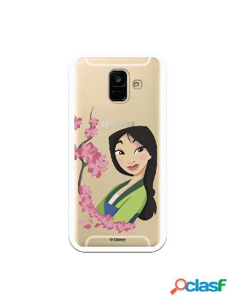 Funda para Samsung Galaxy A6 2018 Oficial de Disney Mulan