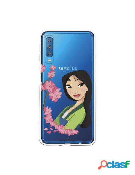 Funda para Samsung Galaxy A7 2018 Oficial de Disney Mulan