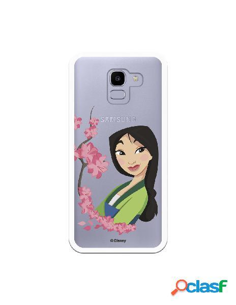 Funda para Samsung Galaxy J6 2018 Oficial de Disney Mulan
