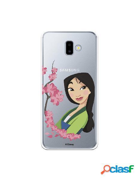 Funda para Samsung Galaxy J6 Plus Oficial de Disney Mulan