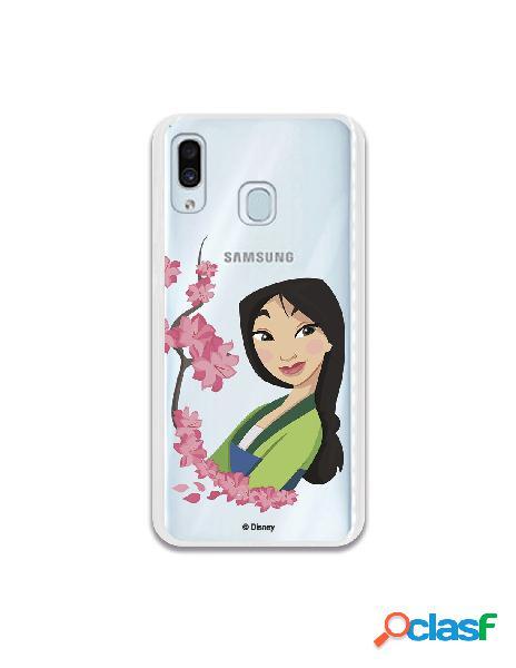 Funda para Samsung Galaxy M10 Oficial de Disney Mulan