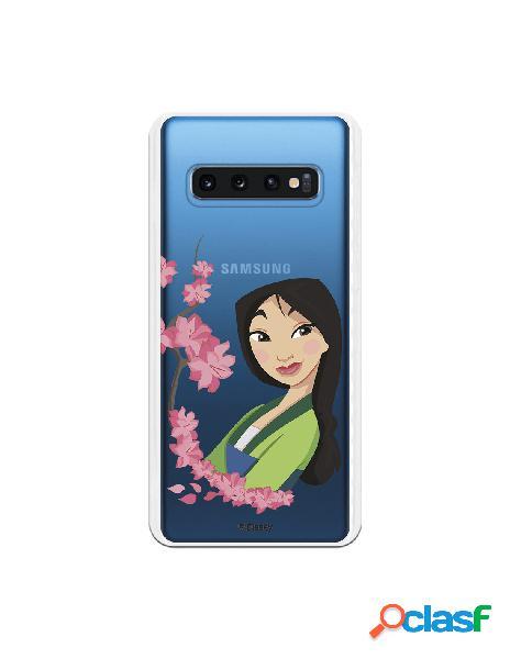 Funda para Samsung Galaxy S10 Oficial de Disney Mulan