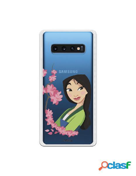 Funda para Samsung Galaxy S10 Plus Oficial de Disney Mulan