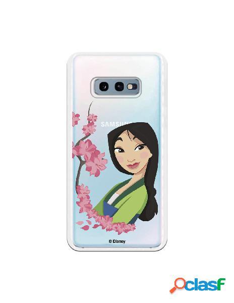 Funda para Samsung Galaxy S10e Oficial de Disney Mulan