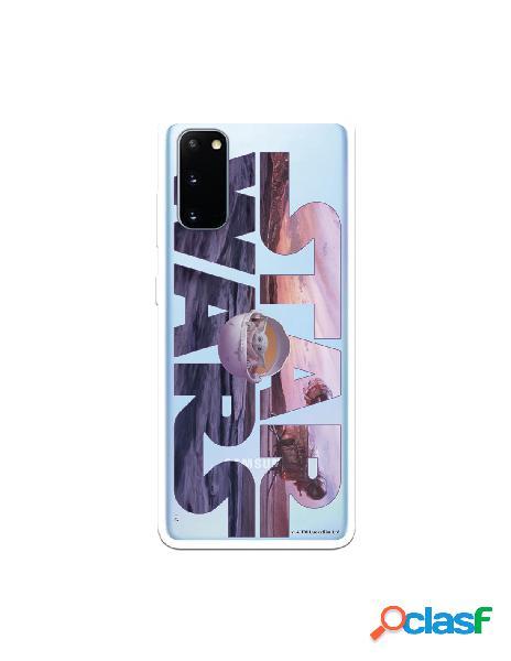 Funda para Samsung Galaxy S20 Oficial de Star Wars Baby Yoda