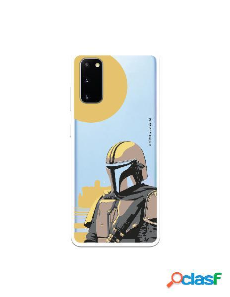 Funda para Samsung Galaxy S20 Oficial de Star Wars Mando