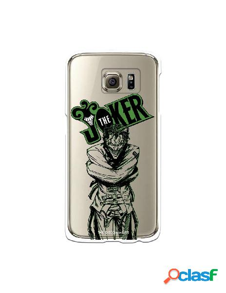 Funda para Samsung Galaxy S6 Oficial de DC Comics Joker