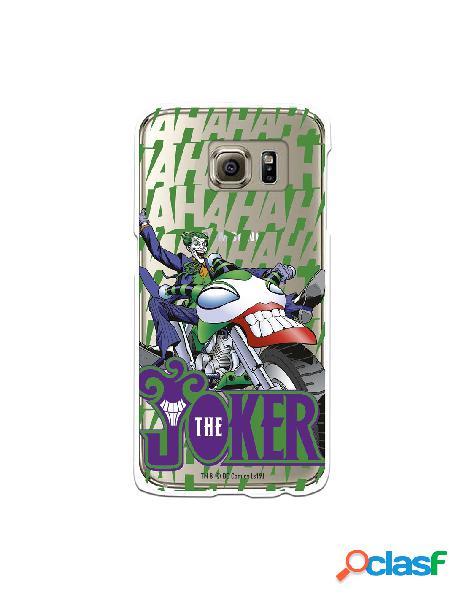Funda para Samsung Galaxy S6 Oficial de DC Comics Joker Moto