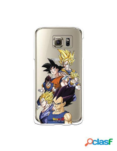 Funda para Samsung Galaxy S6 Oficial de Dragon Ball Goku y