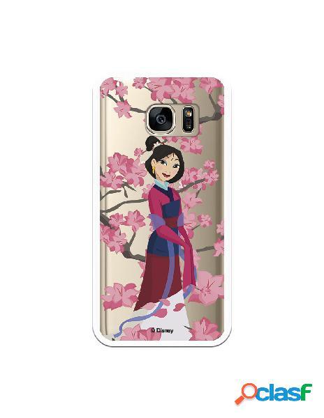 Funda para Samsung Galaxy S7 Oficial de Disney Mulan Vestido
