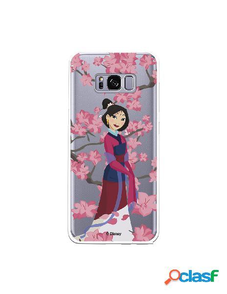 Funda para Samsung Galaxy S8 Oficial de Disney Mulan Vestido