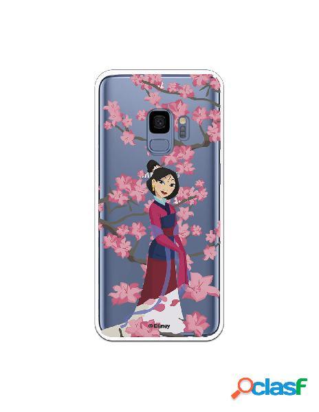 Funda para Samsung Galaxy S9 Oficial de Disney Mulan Vestido