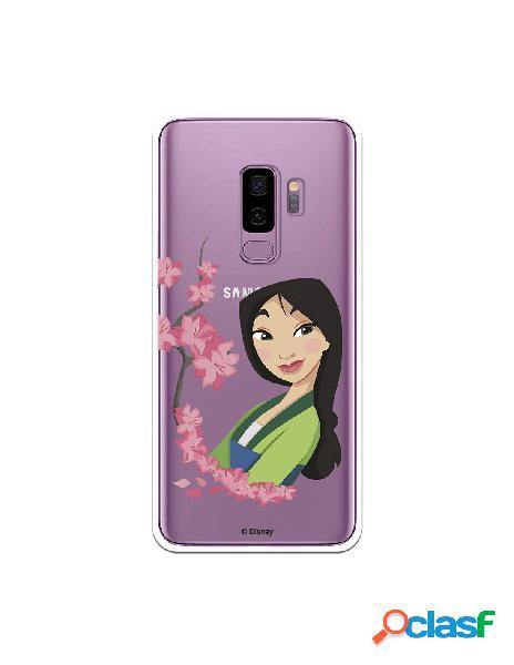 Funda para Samsung Galaxy S9 Plus Oficial de Disney Mulan