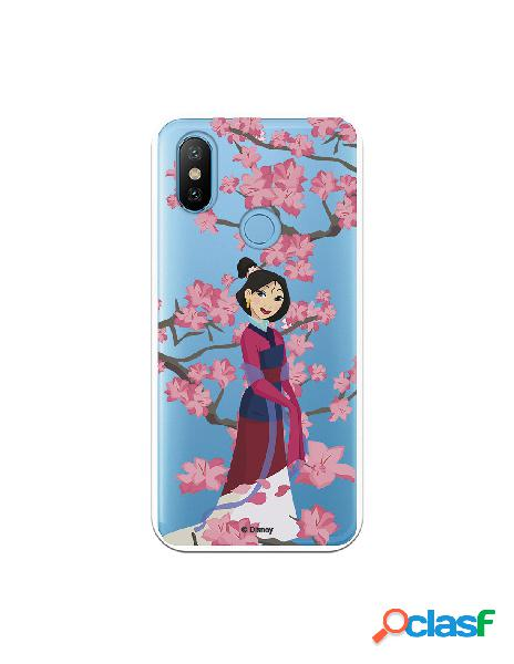Funda para Xiaomi MI A2 Oficial de Disney Mulan Vestido