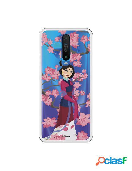 Funda para Xiaomi Mi 10T Oficial de Disney Mulan Vestido