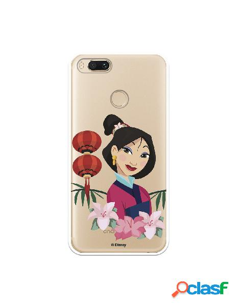 Funda para Xiaomi Mi 5X Oficial de Disney Mulan Rostro -