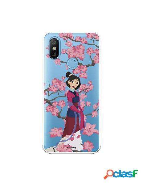 Funda para Xiaomi Mi 6X Oficial de Disney Mulan Vestido