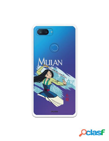 Funda para Xiaomi Mi 8 Lite Oficial de Disney Mulan