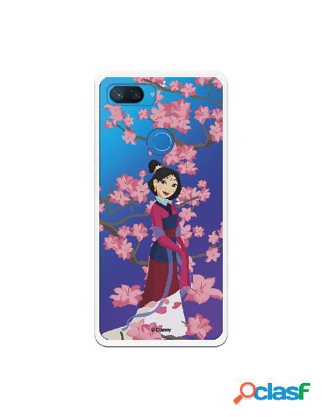 Funda para Xiaomi Mi 8 Lite Oficial de Disney Mulan Vestido