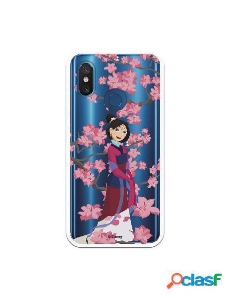Funda para Xiaomi Mi 8 Pro Oficial de Disney Mulan Vestido