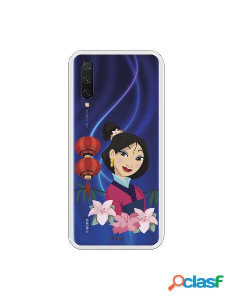 Funda para Xiaomi Mi 9 Lite Oficial de Disney Mulan Vestido
