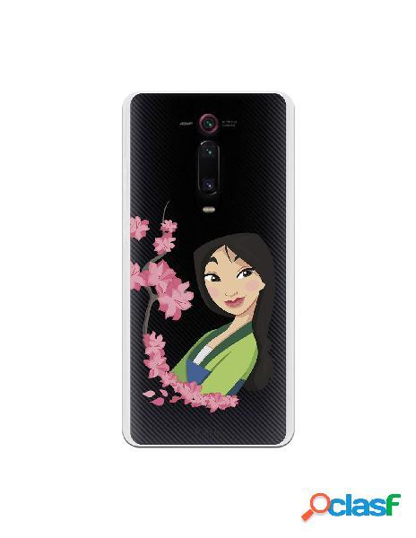 Funda para Xiaomi Mi 9T Oficial de Disney Mulan Amapolas -