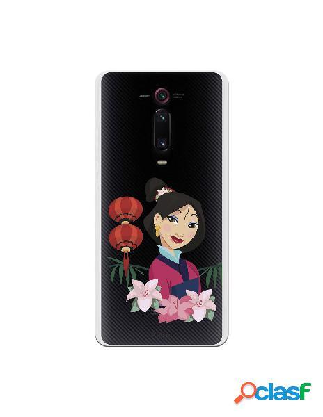 Funda para Xiaomi Mi 9T Oficial de Disney Mulan Rostro -