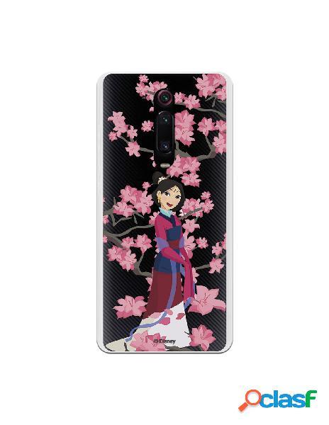 Funda para Xiaomi Mi 9T Oficial de Disney Mulan Vestido