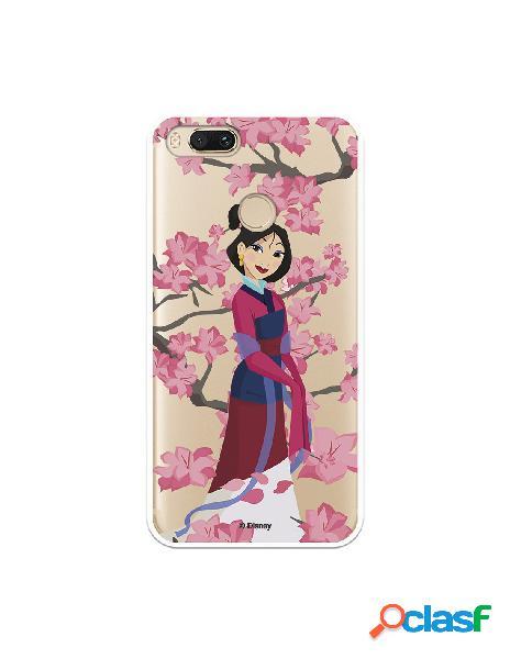 Funda para Xiaomi Mi A1 Oficial de Disney Mulan Vestido